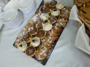 Breakfast- sweets by Golden Style Catering