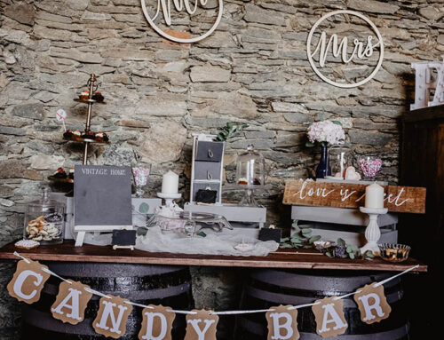 Candy bar by Golden Style Catering